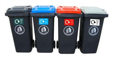 Wheeled Bins - Recyling Centre