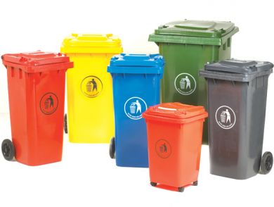 Wheelie Bin - 120L Coloured