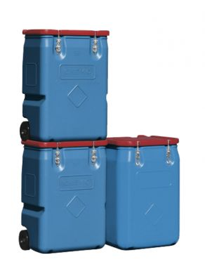 Mobile Polyethylene Storage Tank